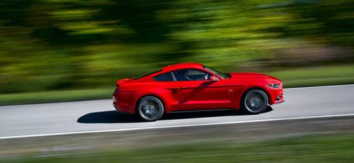 Ford Mustang Marks 50 Years with All-New Sleek Design, Innovative Technologies and World-Class