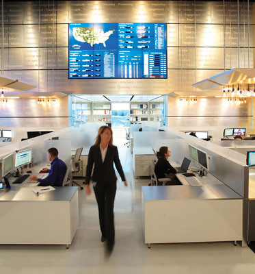 In its Research & New Solutions Lab, Express Scripts combines clinical and behavioral sciences with advanced analytics to develop solutions that improve patient health and drive waste out of the healthcare system.  (PRNewsFoto/Express Scripts)