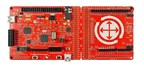 Pictured is Cypress's CY8CKIT-046 PSoC 4 L-Series Pioneer Kit, which is a low-cost hardware and software platform to enable design and debug of PSoC 4 L-Series devices.