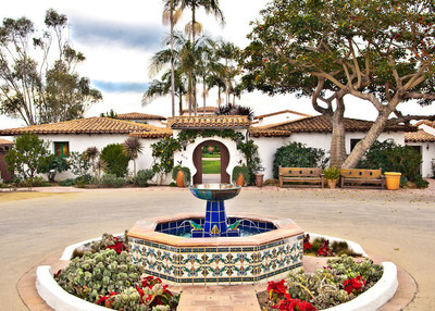 Casa Romantica Cultural Center and Gardens is located at the historic Ole Hanson estate (built in 1927). Image courtesy of Casa Romantica Cultural Center and Gardens.