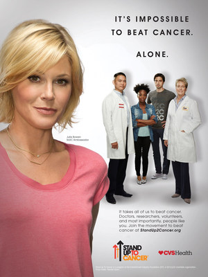 Julie Bowen Joins SU2C and CVS Health in Cancer PSA