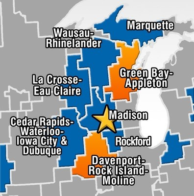 Gray To Acquire #1 Ranked Television Stations In Green Bay And Davenport Markets