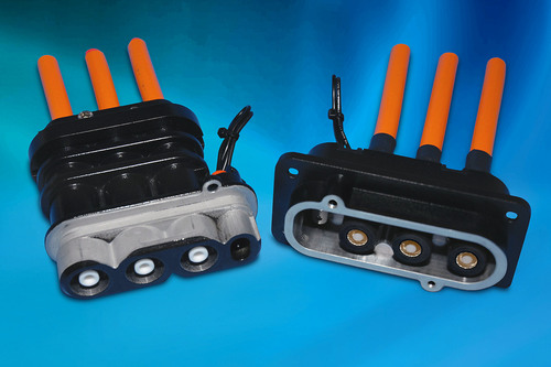 New Space-saving ePower Connectors from Amphenol Ideal for High Amperage, Multi-phase Motor