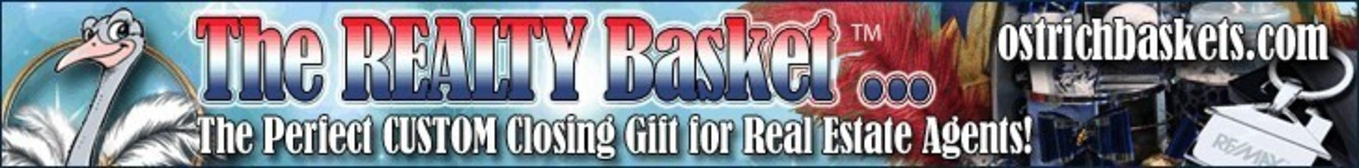 The Realty Basket (PRNewsFoto/Ostrich Baskets & Custom Gifts)
