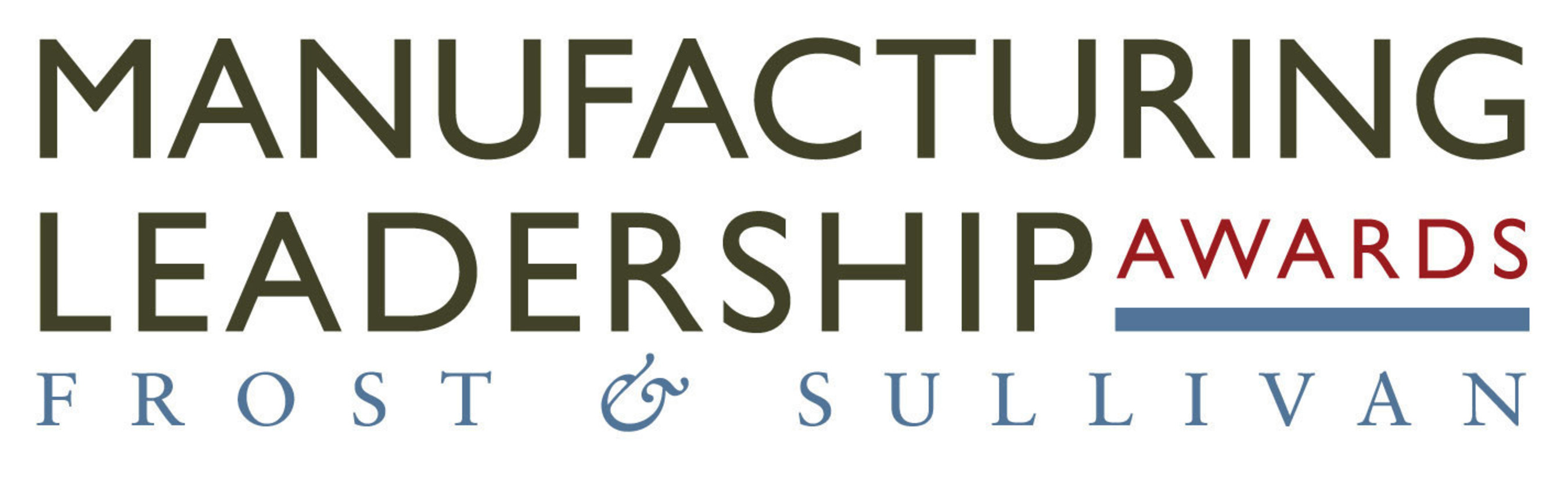 Frost & Sullivan Manufacturing Leadership Awards