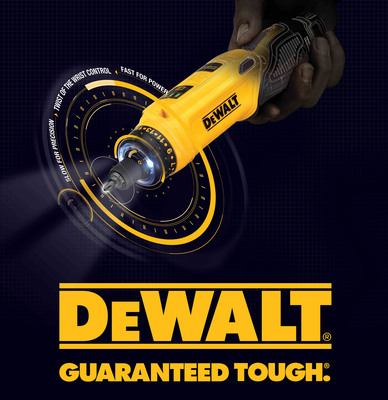 DEWALT(r) Launches New 8V MAX* Screwdriver with Gyroscopic Technology for Easy Screw-driving Applications.  (PRNewsFoto/DEWALT)