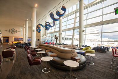 Delta Sky Club in Seattle-Tacoma International Airport