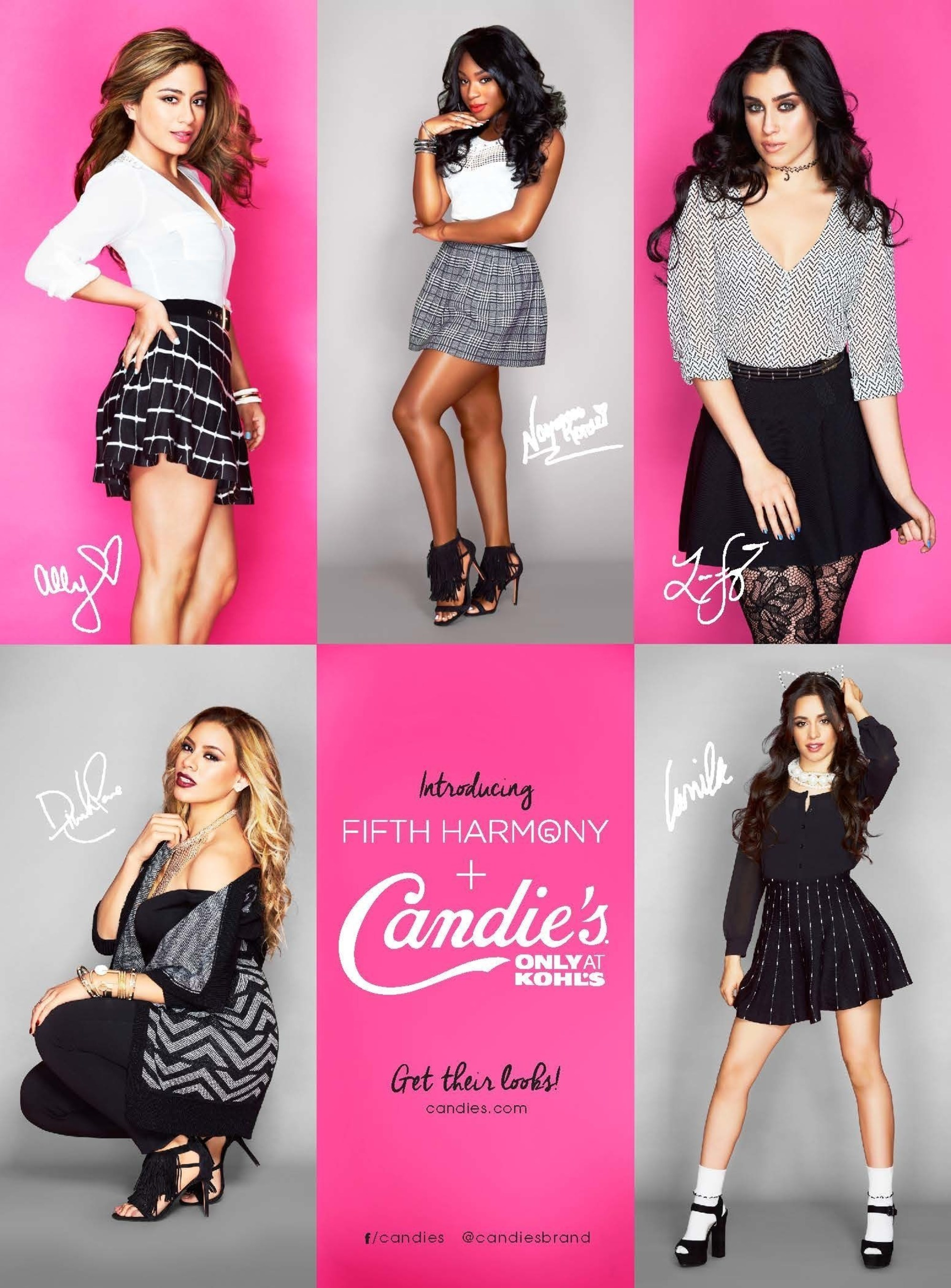 Candie's announces Fifth Harmony as the new face of the brand