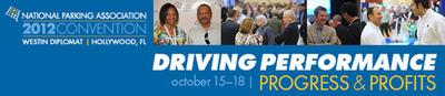 NPA Convention 2012.  (PRNewsFoto/National Parking Association)