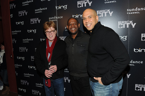 Robert Redford, Forest Whitaker and Mayor Cory Booker Attend the Bing Decision Maker Series With