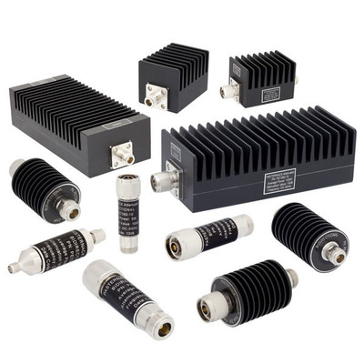 Pasternack 3 GHz and 4 GHz RF Attenuators.  (PRNewsFoto/Pasternack Enterprises, Inc.)
