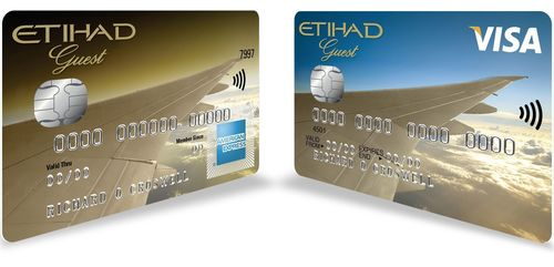 The Etihad Guest Credit Cards. (PRNewsFoto/MBNA Limited)