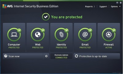 AVG Business releases 2016 Business Edition software with new AVG AntiVirus and Internet Security products.
