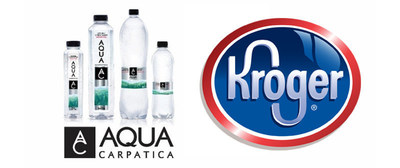 AQUA Carpatica Achieves National Distribution with Launch in Kroger Stores