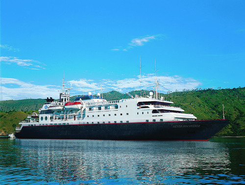 Silversea Cruises is increasing the breadth of communications services MTN will provide its eight-ship fleet, including its latest ships, Silver Discoverer (shown in this photo) and Silver Galapagos. (PRNewsFoto/MTN Communications)