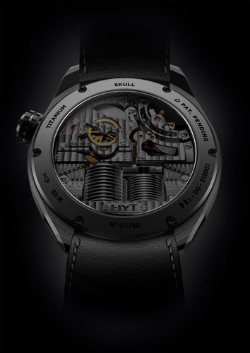 HYT SKULL BAD BOY: to be seen at Baselworld 2016, Location: Palace, Booth 3A This hydro-mechanical watch has an  ...