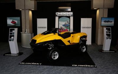 GIBBS at the Detroit Auto Show. (PRNewsFoto/Gibbs Sports Amphibians, Inc.) (PRNewsFoto/GIBBS SPORTS AMPHIBIANS, INC.)