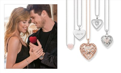 THOMAS SABO celebrates Valentine´s Day 2017 (PRNewsFoto/THOMAS SABO GmbH & Co.KG)