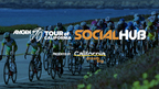 Amgen Tour of California Social Hub Presented by Visit California (PRNewsFoto/AEG)