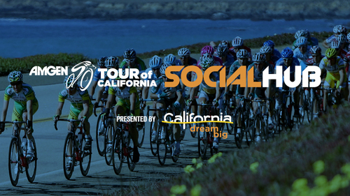 Amgen Tour of California Social Hub Presented by Visit California (PRNewsFoto/AEG)