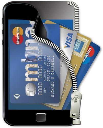 MBNA Wallet Phone Zip (PRNewsFoto/MBNA Limited)