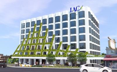 Iac Brings First Sculptural Green Wall And Custom Designed