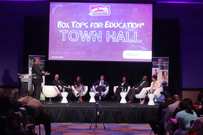 "TV One ""News One Now"" host Roland Martin engaged panelists in a passionate discussion about ways to ensure our children's academic success at the third-annual Box Tops for Education Town Hall in Atlanta."