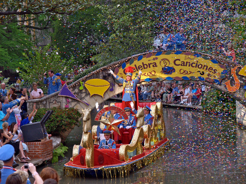 Millions join the annual Fiesta celebration in San Antonio, Texas April 18-28.  (PRNewsFoto/City of San Antonio)