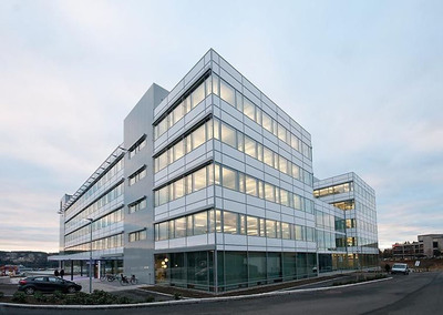 W. P. Carey acquired the new Headquarters of Siemens for $90 million, completing its first acquisition in Norway. Located in the new Oslo Business Park, the 166,000 square foot building is currently the most energy efficient office building in Norway with a LEED Gold (Energy A) rating. (PRNewsFoto/W. P. Carey Inc.) (PRNewsFoto/W. P. CAREY INC.)