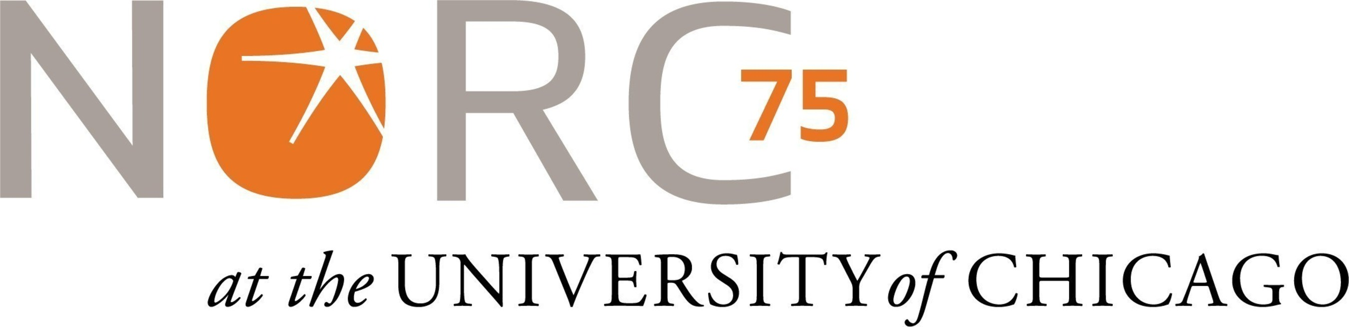 NORC at the University of Chicago 75th Anniversary logo