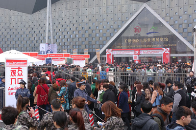 The four-day event attracts more than 90,000 visitors from 40 countries and regions. (PRNewsFoto/Shanghai International Exhibition Co. Ltd.) (PRNewsFoto/SHANGHAI INTERNATIONAL...)