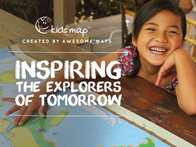 The kidsmap.  (PRNewsFoto/Awesome Maps)