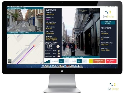 EYEBRIDGE live operator interface (PRNewsFoto/EYEBRIDGE)