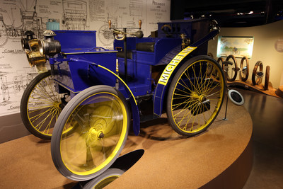 120-year-old Michelin L'Eclair was first car to drive on inflated tires