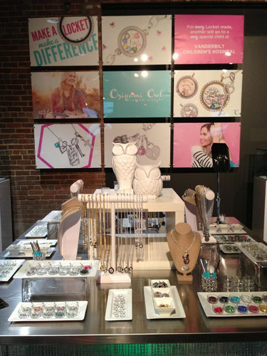 Origami Owl's wide range of Living Lockets(R) and unique charms on display at Big Machine Label Group's  ...