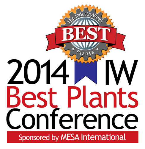 600+ Industrial Leaders Converge On Milwaukee for the IndustryWeek Best Plants Conference (PRNewsFoto/Penton)
