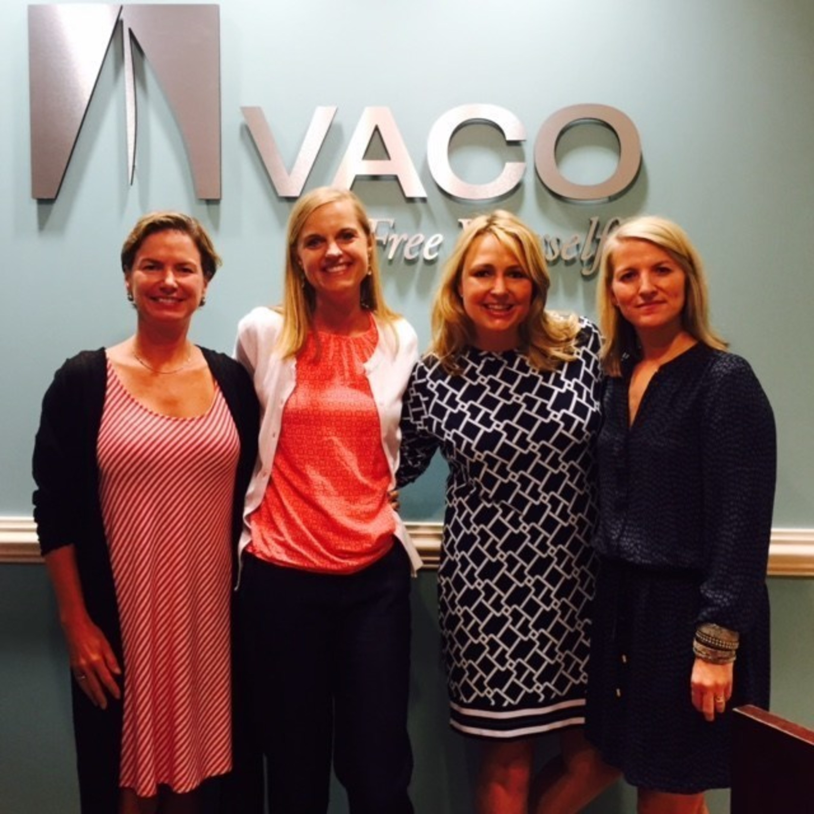 From left to right: Renee Fisher (Vaco), Whitney Forstner (Momentum), Amy Miller (Vaco) and Tanya Cummings (Momentum)