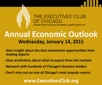 Don't Miss Out on the Hottest Ticket in January! The Executives' Club of Chicago's Annual Economic Outlook Luncheon on January 14. www.ExecutivesClub.org