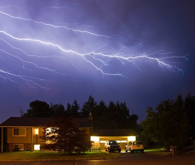Prevent lightning storm damage with tips from Roanoke's Southern Trust Home Services