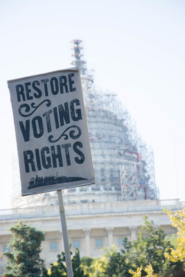 Federal labor leader and North Carolina native J. David Cox Sr. today hailed a federal appeals court ruling overturning the state's restrictive voting laws. Cox leads the American Federation of Government Employees, the nation's largest federal employee union.