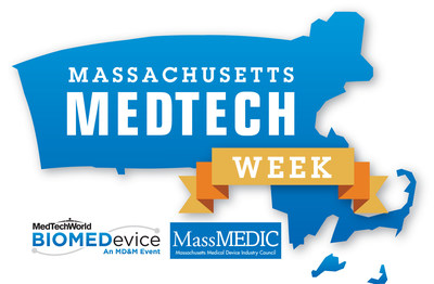 BIOMEDevice Boston & MassMEDIC Present Second Annual Massachusetts Medtech Week, April 13-14