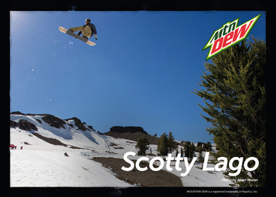 Pro Snowboarder Scotty Lago Joins Mountain Dew Team