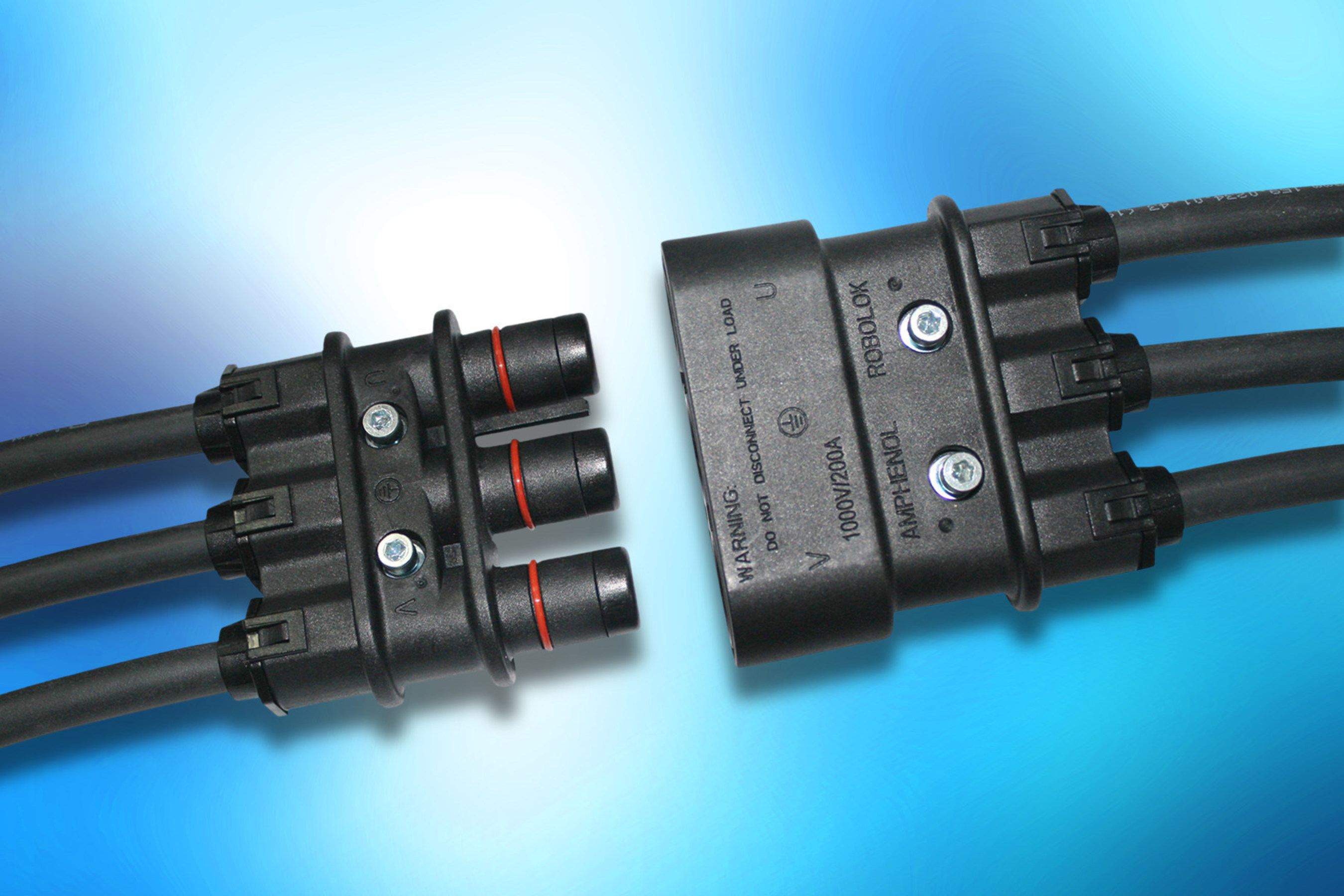 Primary circuit power connector from amphenol enables