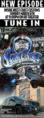 Renowned TV Show Builders West Coast Customs Debuts New TV Show on HD Theater Inside West Coast