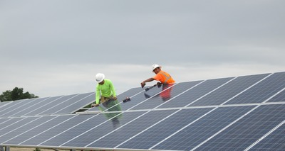 Three new utility-scale solar farms have begun producing power as part of the first half of a $100M solar investment managed by Sol Systems. Strata Solar developed the project opportunities and National Cooperative Bank served as the lender. (PRNewsFoto/Sol Systems)