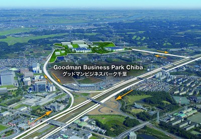 Goodman launches its Goodman Business Park Chiba, Japan