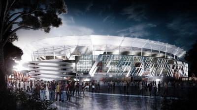Stadio della Roma in Rome, Italy