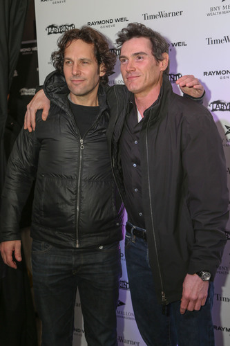 Paul Rudd and Billy Crudup Wear Raymond Weil to Labyrinth Theater's 10th Annual Celebrity Charades. ...