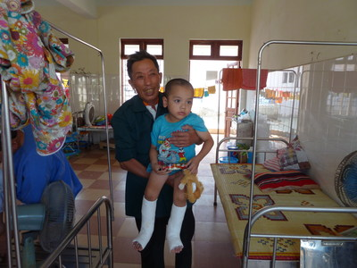 Vietnamese patients who receive care from AOFAS surgeons often travel long distances for the chance to have life-changing surgery.