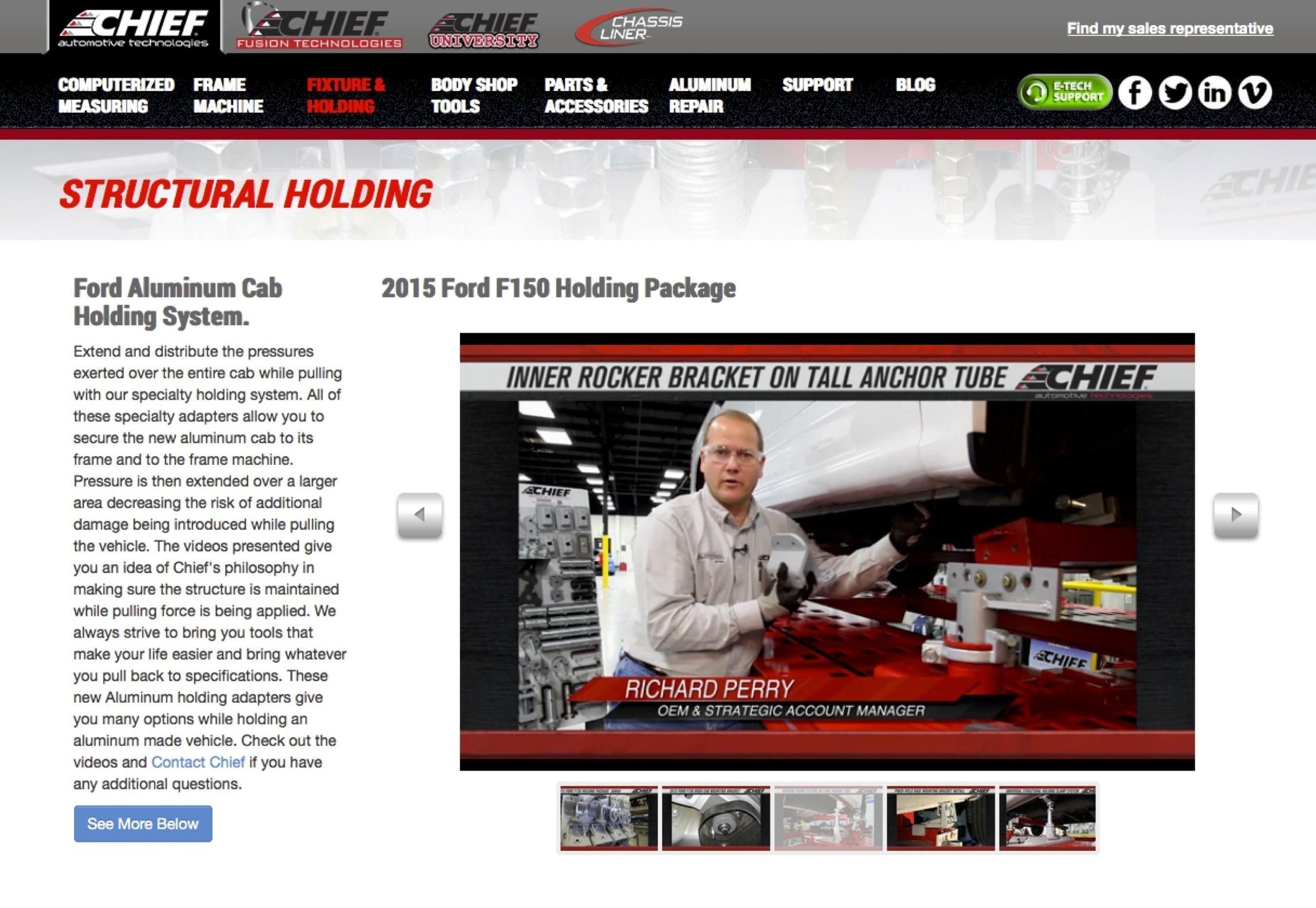 New Chief Videos Teach Proper 2015 Ford F-150 Anchoring